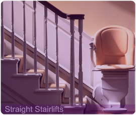Nationwide installation of straight stairlifts.